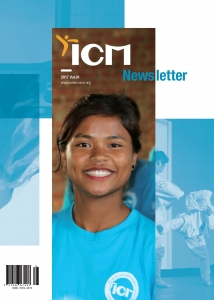 ICM Newsletter The 1st Edition 2017 Cover Page