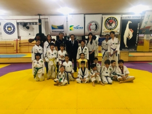 2018 Kick-off Meeting for International youth martial arts camp